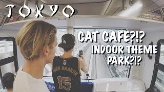CAT CAFE?!? INDOOR THEME PARK?!? ONLY IN JAPAN (#5)