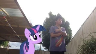 Twilight vs. Pewdiepie (MLP in Real Life)