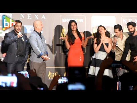 Xxx Mp4 Salman Khan CELEBRATES Katrina Kaif S Birthday IIFA Press Conference 2017 3gp Sex