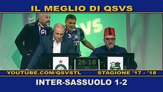 QSVS - I GOL DI INTER - SASSUOLO 1-2  - TELELOMBARDIA / TOP CALCIO 24