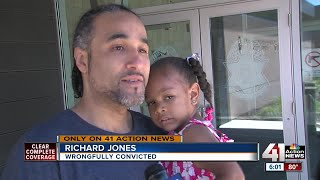 Wyandotte County man wrongfully convicted of robbery goes free after 17 years