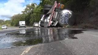 Motorista morre em acidente na BR 101.