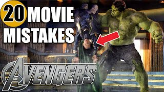 20 Mistakes of THE AVENGERS You Didn't Notice