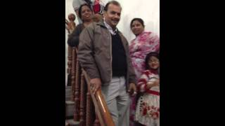 India Surprise to Family