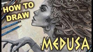 DARK FANTASY ART TUTORIAL - MEDUSA