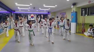 20161119 태권도 공개심사 BTS Fire Taekwondo Dance
