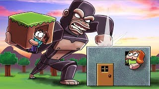 Minecraft | KING KONG BASE CHALLENGE - Kong Goes Crazy! (Secure Skyscraper Base)