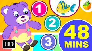 12345 Once I Caught A Fish Alive & Lots of Nursery Rhymes | 48 Minutes Compilation | Magicbox Kids