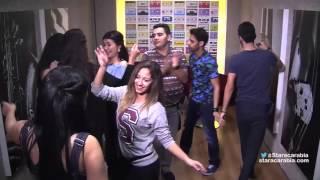 طلاب ستار اكاديمي 11 يرقصون في قاعة تمرينات الغناء - 16/11/2015