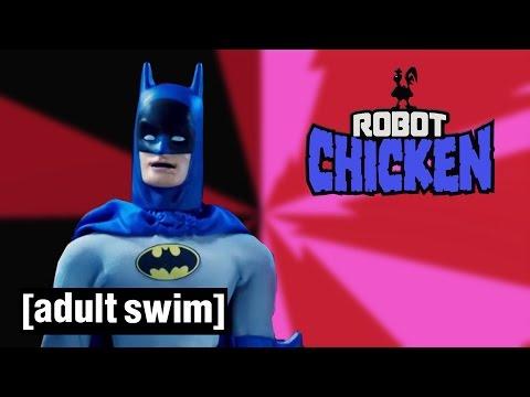 The Best of Batman Robot Chicken Adult Swim