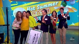 Summer Cash Sweepstakes, Day 4   The View