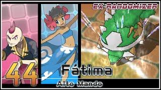 Pokémon Rubí Omega Ex Randomizer Capítulo 44 - VS ALTO MANDO SIXTO & FATIMA