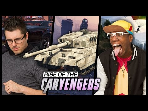 QUEST FOR THE MILITARY TANK Grand Theft Smosh