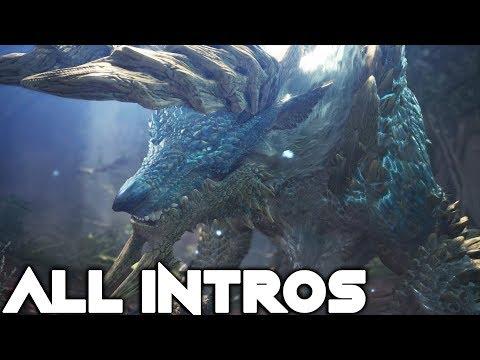 Monster Hunter World Iceborne All Monster Intros