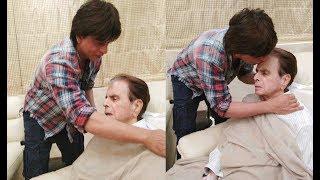 Shahrukh Khan Meets Dilip Kumar At His House - Bollywood Insight