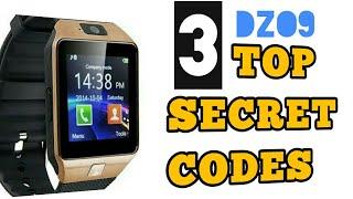 Top 3 secret code of DZ09 SMARTWATCH |GAMES|CALIBRATION|100 %