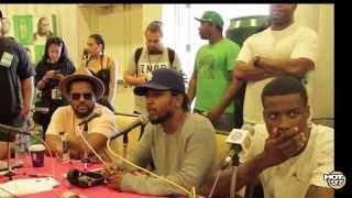 Kendrick Lamar + TDE on Quitting Rap + Charleston Shooting