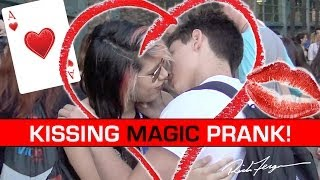 Amazing KISSING Magic Trick! How to get kissed!