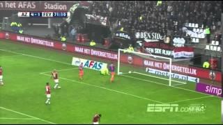 Vilhena goal • Alkmaar vs Feyenoord 4-2 | Eredivisie 2016 | All Goals | HD