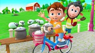 Baa Baa Black Sheep - Nursery Rhymes & Kids Songs | Educational Songs For Kids | Best Simple Songs