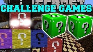 Minecraft: LUCKY BLOCK BOSS CHALLENGE GAMES - Lucky Block Mod - Modded Mini-Game