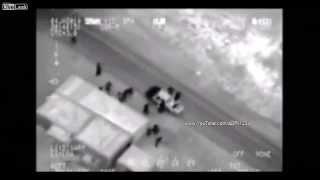 Iraqi Air Force Multiple Air Strikes On Al-Qaida Allies - HD