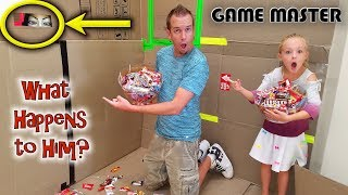 Game Master Hacker Spy Eats All Our Halloween Candy! Then This Happens...