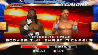 WWE SvR 2007: Booker T vs Shawn Michaels (XBOX 360)
