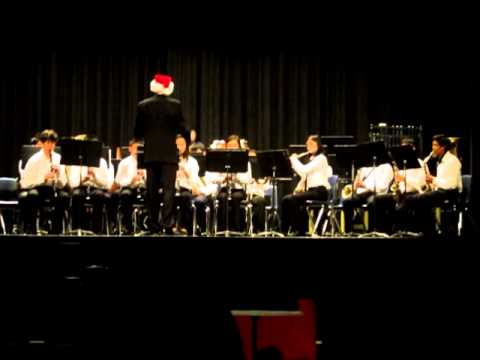 Christmas Chimes Folk Song - Windermere Winter Concert 2012