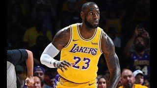 LeBron James' Lakers Debut | Full Game Highlights