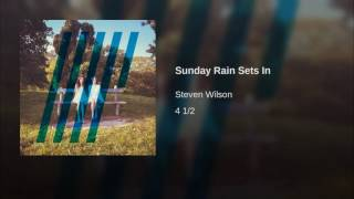 Sunday Rain Sets In