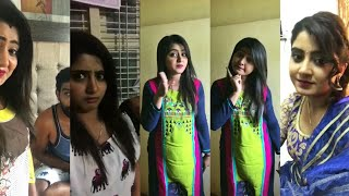   Mangalore Hudugi Hubli Huduga Serial   Actress   Radhika Rao   Musical.ly 4