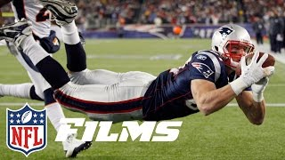 #8 Rob Gronkowski | Top 10 Tight Ends of All Time | NFL Films