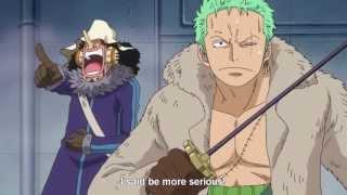 One Piece: Zoro to Luffy