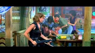 Bond and Pam Bouvier escape from a Bimini Bar [James Bond Semi Essentials]