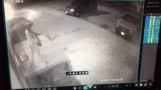 Security video shows Lorain homicide suspect confront shooting victim