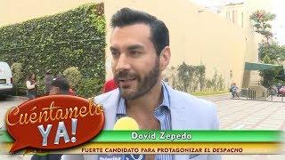¡David Zepeda, a punto de protagonizar nueva telenovela! | Cuéntamelo YA!