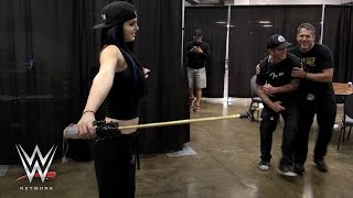 Paige literally shocks WWE Superstars on Swerved: WWE Network