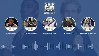 UNDISPUTED Audio Podcast (03.08.19) with Skip Bayless, Shannon Sharpe & Jenny Taft | UNDISPUTED