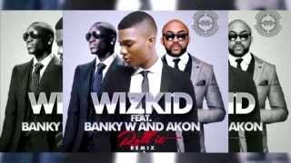Wizkid Ft  Akon & Banky W   Roll It Remix