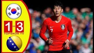 SOUTH KOREA VS BOSNIA HERZEGOVINA 1-3 Friendly Match 01 June 2018