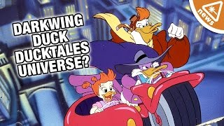 Why the Darkwing Duck Creator Is Wrong About the DuckTales Universe! (Nerdist News w/ Kyle Hill)