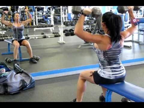 Training with WBFF Fitness & Bikini Model Katie Noval