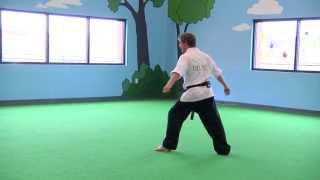 Kids Karate: Tricking -- Kick Trick