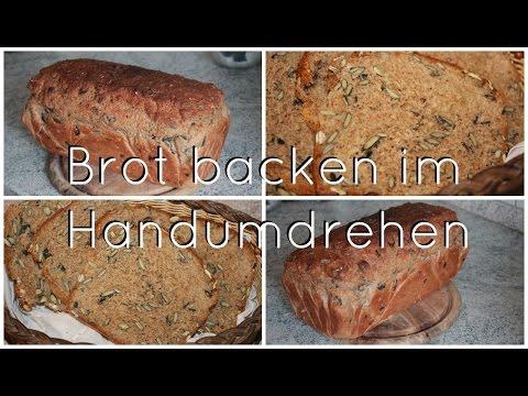 BROTZEIT! | frisches Brot schnell, gesund und einfach lecker ♥ | Erdbeerliese