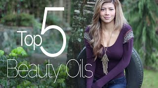 My Top 5 Beauty Oils