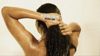my wash day routine (4b/4c? natural hair)