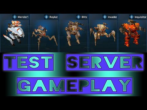 Xxx Mp4 War Robots Inquisitor Invader Blitz Rayker Mender Test Server Gameplay 3gp Sex