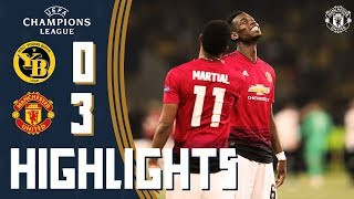 HIGHLIGHTS | BSC Young Boys 0-3 Manchester United | Pogba & Martial goals