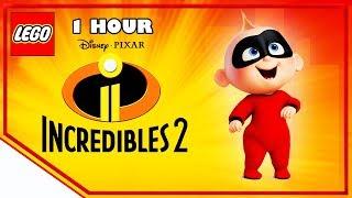 1 Hour 🕐 Lego Disney Pixar Incredibles 2 | Stop Motion Cartoon For Kids